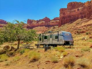 Hite Utah RV Camping